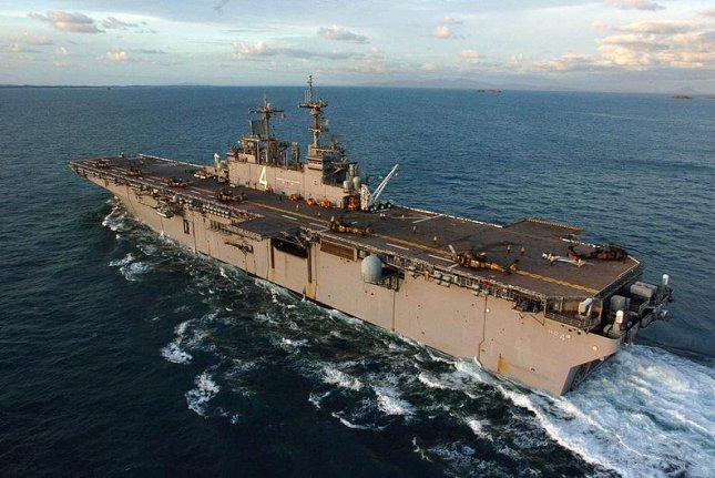 The amphibious assault ship USS Boxer. For the exercise with the Royal Canadian Navy, the U.S. Navy intends to focus on amphibious combat training. U.S. Navy photo by Mate 3rd Class James F. Bartels