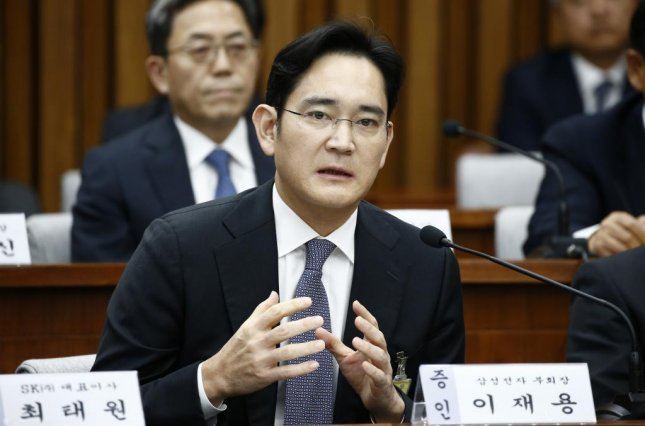 A file picture dated 06 December 2016 shows Lee Jae-yong, vice chairman of Samsung Electronics, is expected to be questioned by prosecutors as a suspect in the bribery probe that has already claimed the country's president. Lee already answered questions during a parliamentary hearing at the National Assembly in Seoul on December 6, 2016. Pool photo by Jeon Heon-Kyun/European Pressphoto Agency