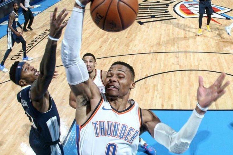 Oklahoma City Thunder star Russell Westbrook. Photo courtesy of the Oklahoma City Thunder/Instagram.