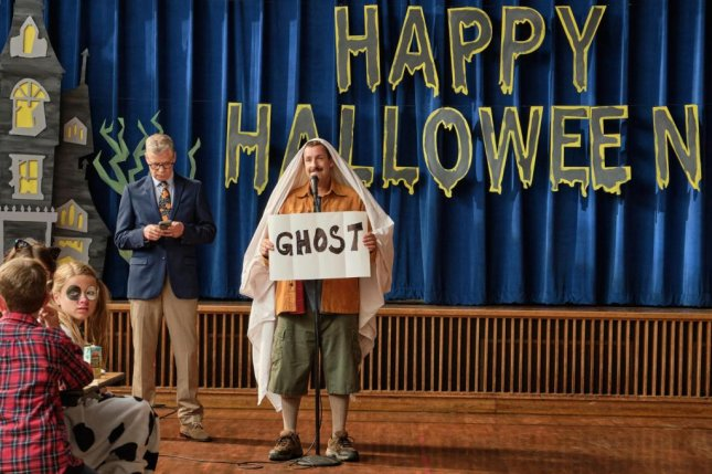 Adam Sandler stars in Hubie Halloween, a new comedy film coming to Netflix in October. Photo courtesy of Netflix