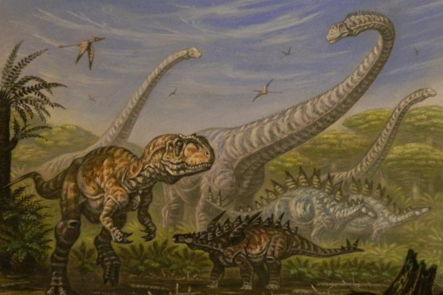 According to a new study, the dinosaurs were thriving in the millennia preceding their extinction. Photo by ABelov2014/Wikimedia Commons