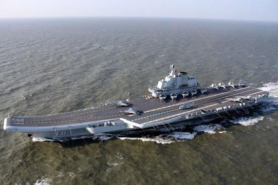 A strike force led by the Chinese aircraft carrier Liaoning passed near Japan and Taiwan over the weekend, causing alarm in Tokyo and Taipei. Photo courtesy of China Ministry of Defense