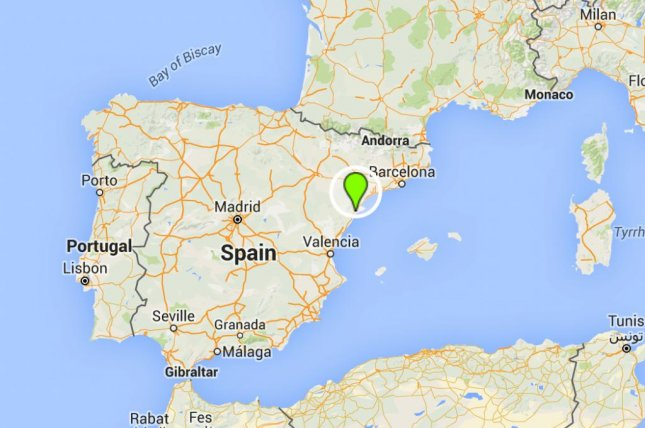 Google Map Of Spain And Portugal.Bus Crash In Spain Kills 13 Students Upi Com