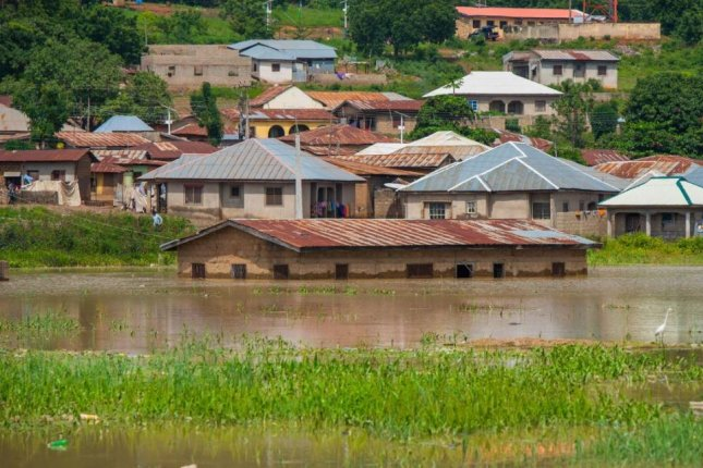 More than 100 people have died and thousands were displaced by the overflow of Nigeria's Niger and Benue Rivers, authorities said Monday. Photo courtesy of Kogi State government and NEMA/Twitter