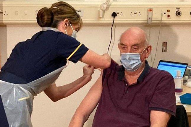 Britain inoculates first patient with AstraZeneca/Oxford vaccine - UPI.com