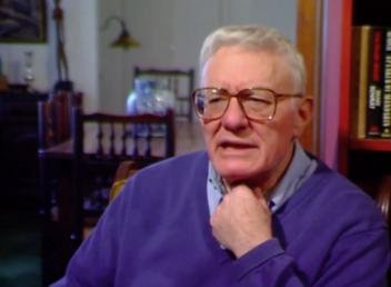Famed playwright Peter Shaffer died Sunday at age 90. He is best known for Amadeus, Equus and The Royal Hunt of the Sun. Photo from Inge Center/YouTube