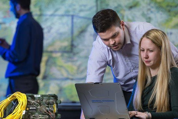The U.K.'s Morpheus project aims to improve communication capabilities for engaged warfighters. Photo courtesy of General Dynamics