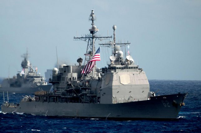 The USS Chancellorsville, pictured, willrepresent the U.S. Navy at the Exercise Pacific Vanguard, which started on Nov. 20. Photo courtesy of U.S. Navy