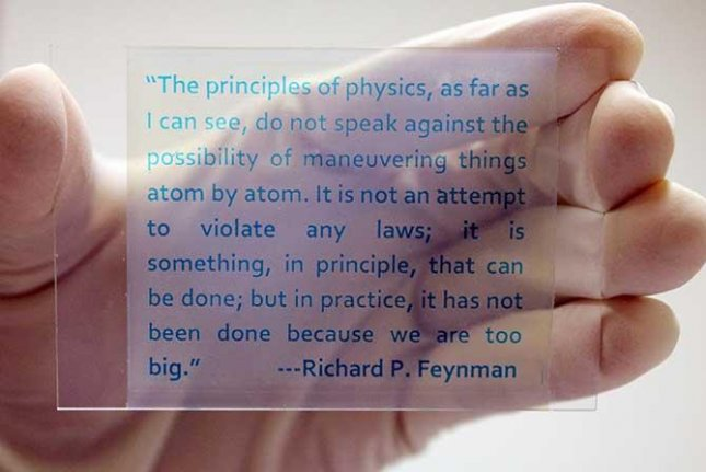 Researchers have developed a type of rewritable paper they say can be used and printed on at least 20 times. Photo by Yin Lab/UC Riverside.