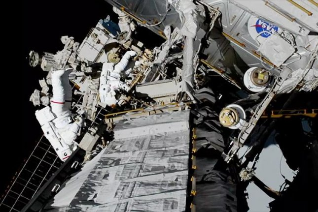 NASA astronauts Christina Koch and Jessica Meir spent more than seven hours outside the International Space Station during a historic first all-female spacewalk. Photo by NASA