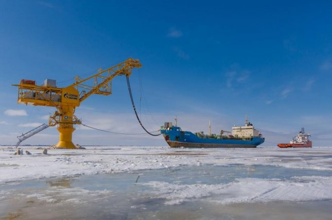 Russian oil producer Gazprom Neft starts early testing for vessel meant to support oil operations in the extreme north. Photo courtesy of Gazprom Neft.