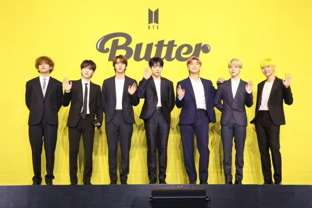 South Korean K-pop stars BTS broke streaming records on YouTube and Spotify with their latest release, the dance-pop track Butter. Photo courtesy of Big Hit Music.