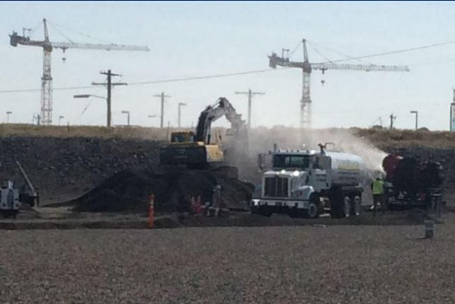 Workers start filling collapsed plutonium plant tunnel in Washington