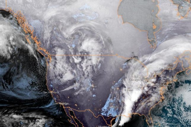 AccuWeather meteorologists do not expect rain storms in southern United States to have the same ferocity as those that occurred during the first severe weather outbreak of the year from Friday into Saturday night. Satellite image courtesy NOAA