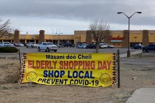 Shelter-in-place restrictions have been extended for the Navajo Nation reservation, where residents are asked not to leave their homes except to buy groceries or gas because of COVID-19. Photo courtesy of the Navajo Nation