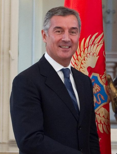 The Kremlin Tuesday denied involvement in an alleged coup attempt designed to assassinate Montenegro's prime minister, Milo Djukanovic, pictured. Photo by UKOM/Wikipedia