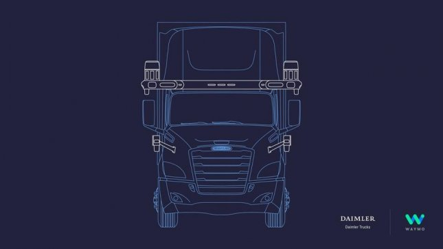 Daimler and Waymo said Tuesday they have reached an agreement to develop trucks using level 4 autonomous technology. Photo courtesy of Waymo