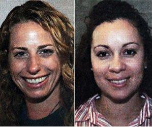French teacher Cindy Mauro, 34, and Spanish instructor Alini Brito, 30. NY Daily News