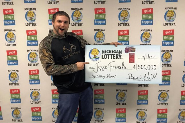 A Michigan man said he bought the scratch-off lottery ticket that earned him a jackpot in his dreams and ended up winning $500,000 in real life. Photo courtesy of the Michigan Lottery