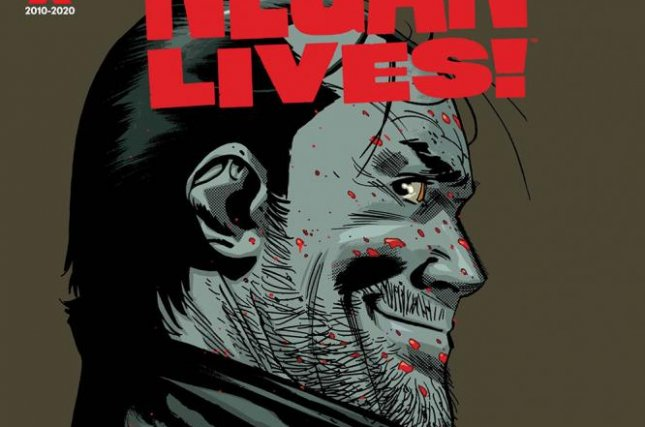 Image of Negan Lives! comic book cover courtesy of Skybound