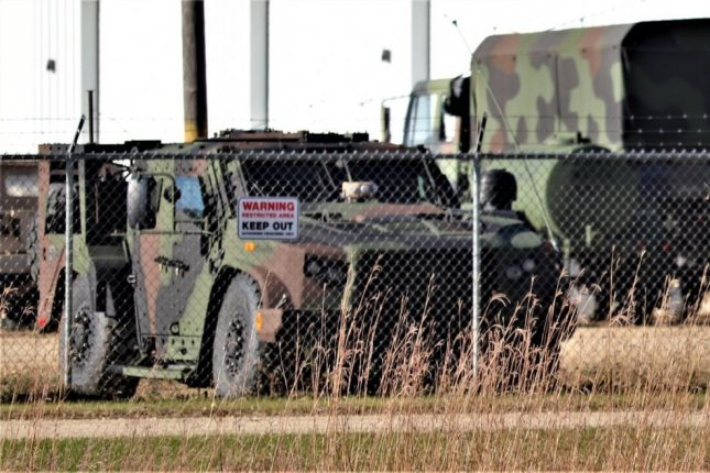 A Joint Light Tactical Vehicle (JLTV) is shown parked at a staging area on the cantonment area in October at Fort McCoy, Wis. On Tuesday Oshkosh Defense received an $801 million contract to Montenegro. Photo by Scott T. Sturkol/U.S. Army