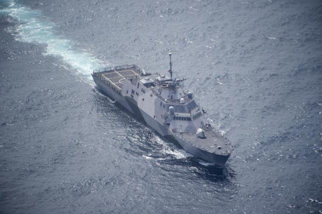 BAE Systems Southeast Shipyards, General Dynamics NASSCO, Epsilon Systems Solutions and Lockheed Martin have been awarded U.S. Navy contracts for maintenance and sustainment of the Freedom-class Littoral Combat Ship fleet. The USS Freedom LCS is shown here in July 2016. U.S. Navy photo