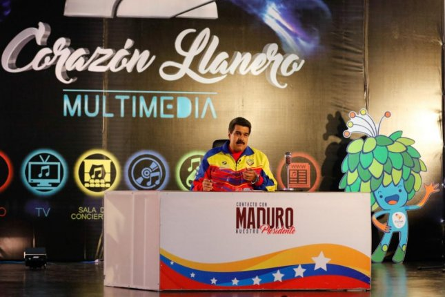 Venezuelan President Nicolas Maduro, seen here on Tuesday during a televised address, said he would seek to cut off the opposition-controlled National Assembly from public funds because it is operating outside the law in reference to the swearing in of suspended lawmakers. Photo courtesy of Prensa Presidencial