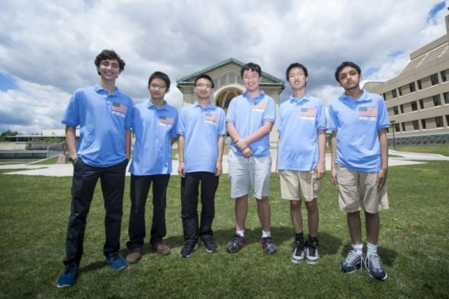 The U.S. International Mathematical Olympiad math team finished in the 2017 competition held in Rio de Janeiro, Brazil on July 24. Photo by Mathematical Association of America.