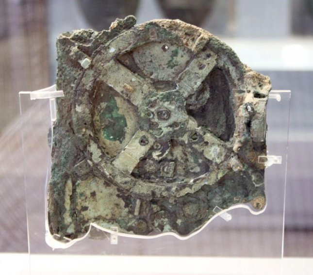 The Antikythera Mechanism, considered the world's first computer, was discovered in the waters off Crete in 1901. Researchers now say it is about 100 years older than first thought, dating back to 205 BCE.