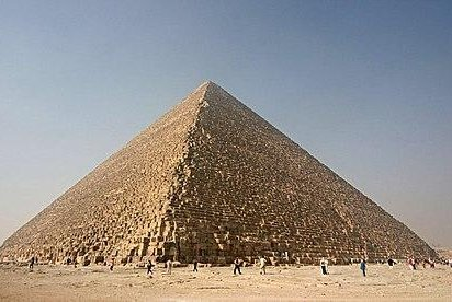A tourist's bus riding near the Giza pyramid in Egypt was hit by an explosion Sunday. Photo by Nina/Wikimedia Commons