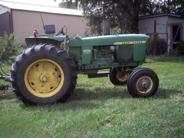 A tractor (CC/Marion Doss)
