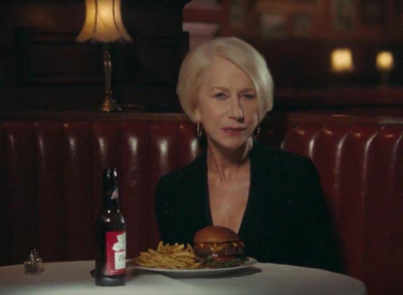 Oscar winner Helen Mirren scolds drunk drivers in a charming English way in a new Super Bowl ad for Budweiser. Screen Shot: Budweiser/YouTube.