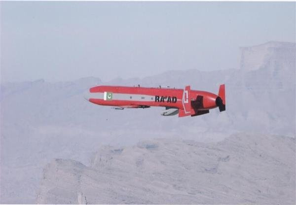Pakistan's nuclear-capable Ra'ad missile. Photo: ISPR.