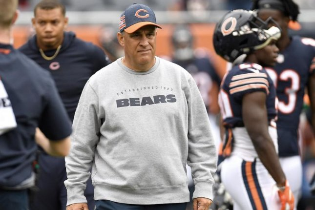 Former Chicago Bears defensive coordinator Vic Fangio. Photo courtesy of the Chicago Bears/Twitter