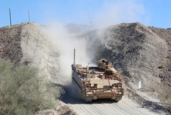 BAE's Armored Multi-Purpose Vehicle is designed to move in a variety of terrain and will replace the Vietnam War-era M113s. Photo courtesy BAE Systems