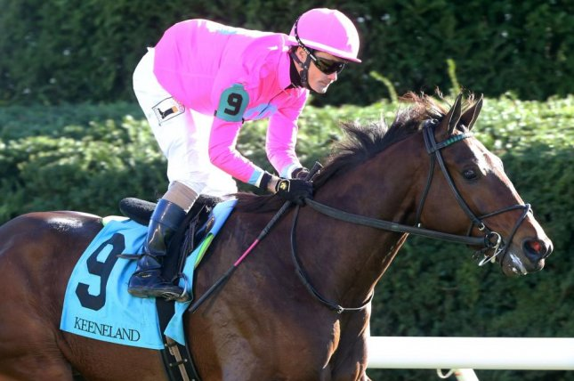 Zulu Alpha, in first race since being claimed last month, wins Thursday's Grade III Sycamore at Keeneland. (Keeneland photo)