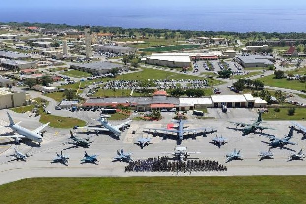 Thirty-five members of a U.S. Air Force unit recently arrived at Andersen Air Force Base in Guam have contracted the COVID-19 virus, the Air Force said on Monday. Photo by A1C Christopher Quail/U.S. Air force