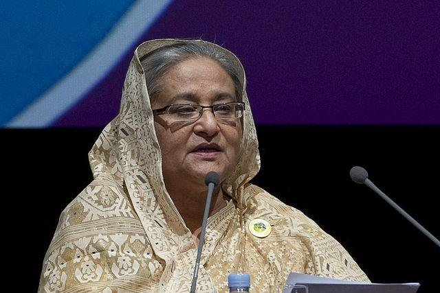 Prime Minister Sheikh Hasina, president of Bangladesh's Awami League. More than 30 people have been killed and thousands arrested in political unrest in the country in the past weeks. Photo by United National Conference on Trade and Development/CC