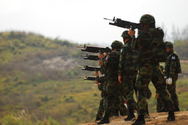 South Korean soldiers in training in 2010. A South Korean reserve soldier went on a deadly rampage on Wednesday. South Korea's reserve forces include 2.9 million soldiers. Photo courtesy of Republic of Korea Marine Corps