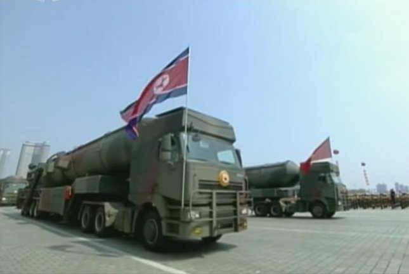 Russia-built trucks replicated for North Korea parade