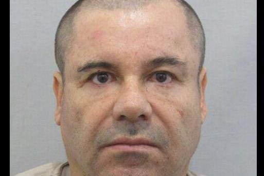 A Mexican musician revealed the identity of a man in a music video as his father because of shared similarities in appearance and circumstance to fugitive drug lord Joaquin El Chapo Guzman (pictured). Photo courtesy of Mexico's Attorney General