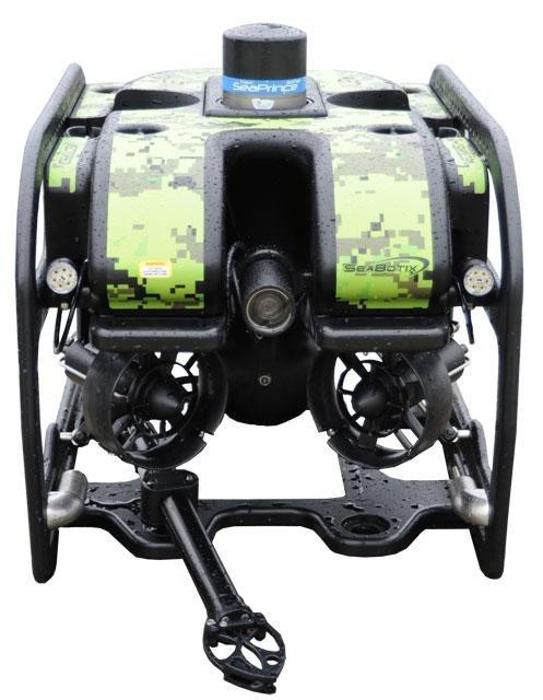 The upgraded vLBV300 underwater drone. Photo courtesy Teledyne Marine