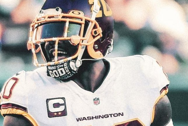 The Washington Football Team players will wear jersey numbers on the side of their helmets and have the name Washington on the front of their jerseys in 2020. Photo courtesy of the Washington Football Team