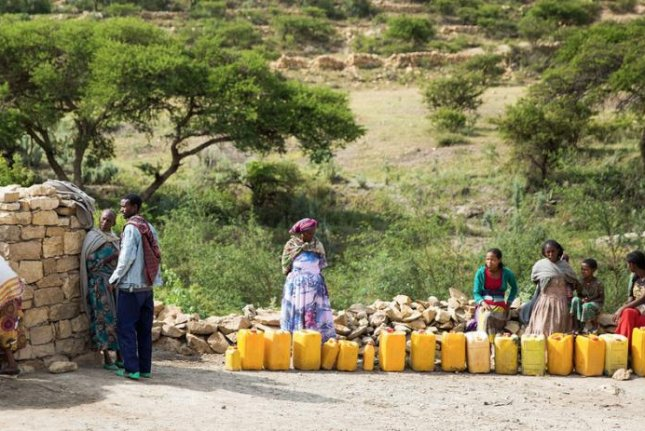 Food aid was delivered to Eritrean refugees in camps in Ethiopia's troubled northern region of Tigray, the United Nations said Monday. Photo byZerihun Sewunet/UNICEF