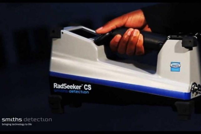 The RadSeeker radiation detector ordered by the Department of Homeland Security. Photo courtesy Smiths Detection