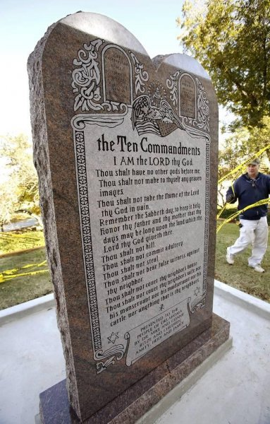 Oklahoma Supreme Court orders removal of 10 Commandments at state capitol