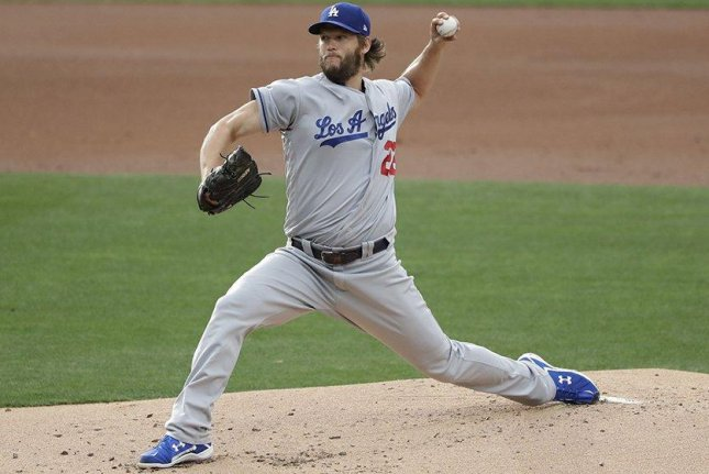 Los Angeles Dodgers' Clayton Kershaw notches 8th straight victory against San Diego Padres