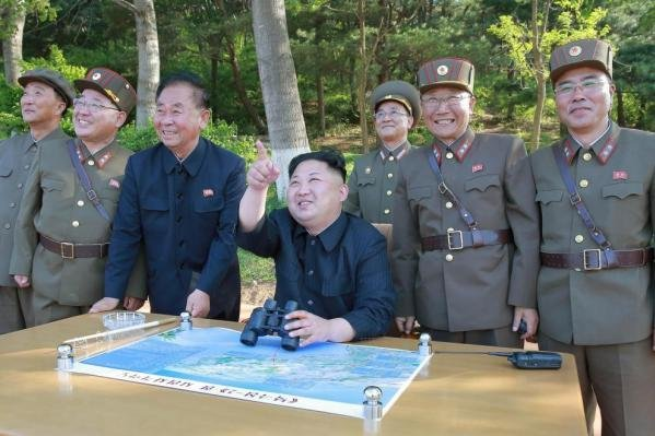 North Korea says leader Kim supervised test of new anti-ship missiles