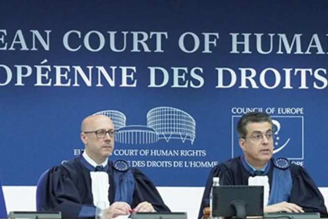 The European Court of Human Rights ruled Thursday Lithuania and Romania allowed the CIA to interrogate suspected terrorists in the mid-2000s and used tactics that violated a European convention against torture. Photo courtesy ECHR/Twitter