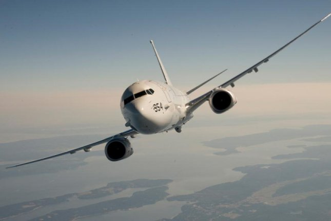 The Royal Australian Air Force has recieved it's first P-8A aircraft. The P-8A Poseidon is Boeing' latest maritime patrol aircraft. Image courtesy Boeing
